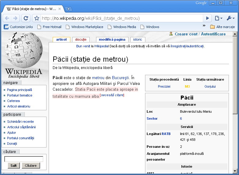 Wiki - Pacii